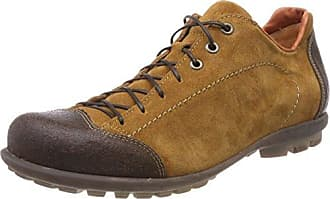 Think Kong_282659, Zapatos de Cordones Brogue para Hombre, Verde (Apfel/Kombi 59), 43.5 EU