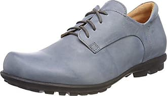 Think Stone_282998, Zapatos de Cordones Brogue para Hombre, Azul (Water/Kombi 86), 43.5 EU