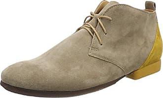 Think Mandl_282641, Zapatos de Cordones Oxford para Hombre, Gris (Grau/Kombi 17), 45.5 EU