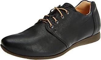 Think Raning_282098, Zapatos de Cordones Brogue para Mujer, Gris (Stahl/Kombi 19), 38.5 EU