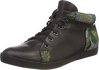 Think Kapsl_282066, Zapatillas para Mujer, Negro (Schwarz 00), 41 EU