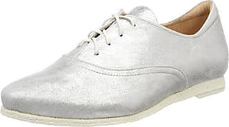 Shua_282035, Zapatos de Cordones Brogue para Mujer, Beige (Puder 34), 40 EU Think