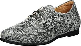 Think Menscha_282073, Zapatos de Cordones Derby para Mujer, Marrón (Rum/Kombi 54), 38.5 EU