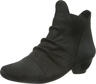 Think Damen Chilli_282114 Desert Boots, Schwarz (Schwarz 00), 41 EU