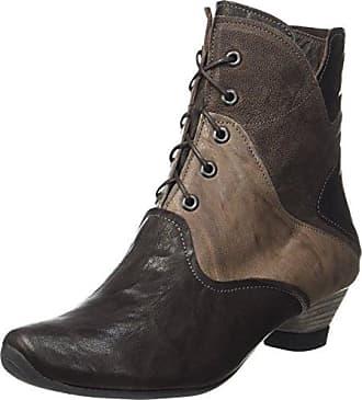 Think Damen Denk_181023 Desert Boots, Braun (Schoko/Kombi 46), 37.5 EU