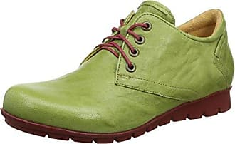 Menscha_282070, Zapatos de Cordones Derby para Mujer, Negro (Sz/Kombi 09), 36 EU Think