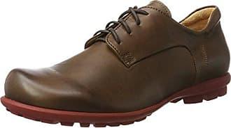 Think Kong_282655, Zapatos de Cordones Brogue para Hombre, Marrón (Espresso/Kombi 42), 45 EU