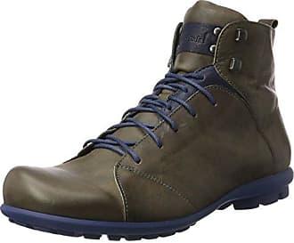 Think Guru - Zapatos de cordones, Beige/Espresso, 42.5