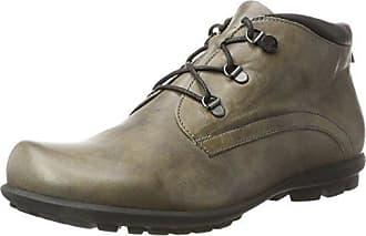 Think Guru 83690 - Zapatos de cuero para hombre, color negro, talla 44.5 EU (10 Herren UK)