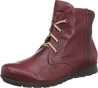 Think Damen Guad_181297 Desert Boots, Rot (Vino/Kombi 37), 39.5 EU