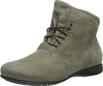 Think Thi, Damen Desert Boots, Schwarz (SCHWARZ-00), 37 EU (4.5 Damen UK)