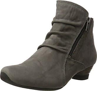 Aida, Chelsea Boots Femme, Rouge (Chianti 34), 36 EUThink