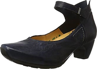 Womens Nola Court Shoes Gray Grau (ANTRAZIT-14) Size: 41 EU (7.5 Damen UK) Think OYosc2XM