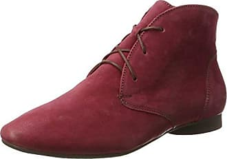 25104, Desert Boots Femme, Rouge (Chili 533), 36 EUMarco Tozzi