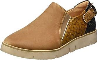 Think Menscha_282074, Zapatos de Cordones Derby para Mujer, Marrón (Macchiato/Kombi 25), 41.5 EU