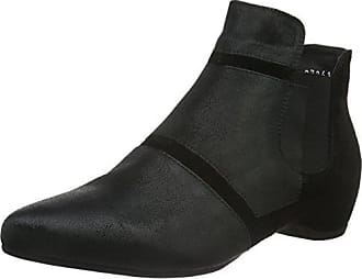 Damen Imma Chelsea Boots, Schwarz (SZ/Kombi 09), 40.5 EU Think
