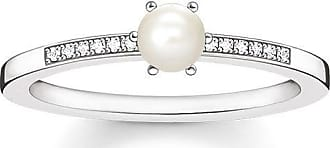 Thomas Sabo ring white D_TR0011-765-14-48 Thomas Sabo K8G1uFT7M