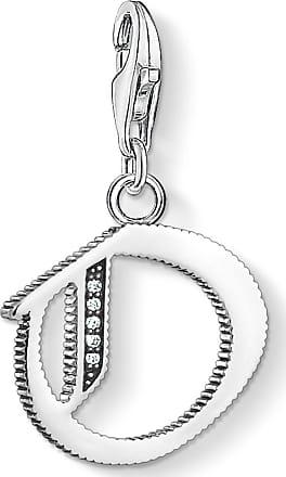Thomas Sabo Charm pendant Bulldog with crown silver-coloured 1510-497-21 Thomas Sabo X744MKj