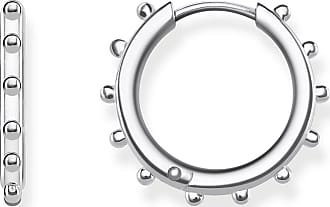 Thomas Sabo hoop earrings silver-coloured CR617-001-21 Thomas Sabo 4EQvrct