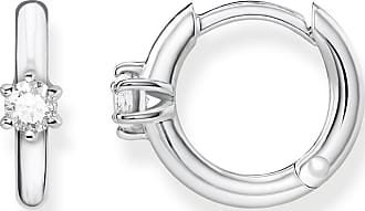 Thomas Sabo hoop earrings white CR625-051-14 Thomas Sabo VtlFV0z27z
