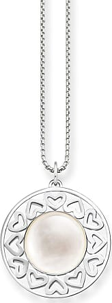Thomas Sabo personalised necklace silver-coloured SET0398-001-21-L42v Thomas Sabo spyRHrpje6