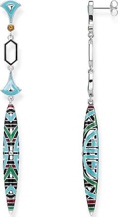 Thomas Sabo earrings multicoloured H1981-341-7 Thomas Sabo mhztEV