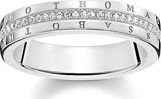 Thomas Sabo ring white D_TR0016-725-14-48 Thomas Sabo knuY7
