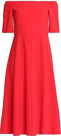 Tibi Femme Hors De L'épaule-étirage-midi Crêpe Robe Taille Rouge Tomate 8 Tibi Libre Choix D'expédition Réduction Ebay Rabais Pas Cher En Ligne Q4t4Xp9