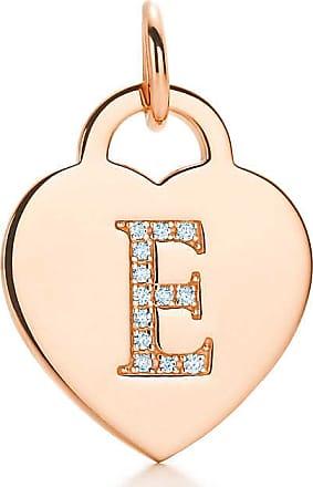 Charme Lettre Alphabet Tag Coeur B En Or Rose 18 Lettres D'or Az Disponible - Taille B Tiffany & Co. 2a5eRhb