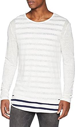 Gerry, Camiseta para Hombre, Multicolor (White/Blue 022), S Tigha