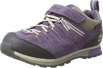 Timberland Trail Force Goretex Waterproof, Zapatos de Cordones Oxford Unisex Niños, Morado (Purple 524), 31 EU