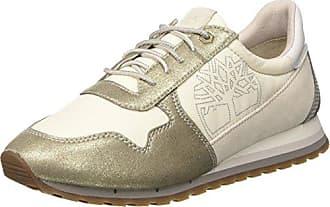 Milan Flavor Sneaker, Zapatos de Cordones Oxford para Mujer, Marrón (Simply Taupe L47), 36 EU Timberland