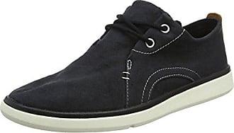 Timberland Gateway Pier Sensorflex, Zapatos de Cordones Oxford para Hombre, Negro (Paprika Canvas 808), 44.5 EU