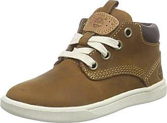 Timberland Groveton 6In, Sneakers Hautes Mixte Enfant, Vert (Green), 20 EU