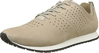 Retro Runner, Zapatos de Cordones Oxford para Hombre, Marrón (Pure Cashmere Nubuck K51), 43 EU Timberland