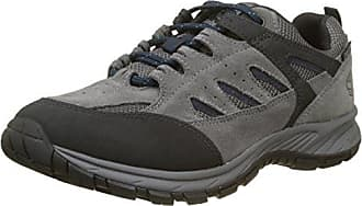 311163041500, Zapatos de Cordones Derby para Hombre, Gris (Dark Grey), 43 EU Bugatti