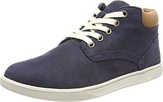 Timberland Groveton_Groveton Leather Chukka, Low-Top Sneaker Mixte Enfant, (Wheat), 21