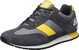 Timberland Lufkin Jogger, Zapatos de Cordones Oxford para Hombre, Gris (Forged Iron Suede C64), 43 EU