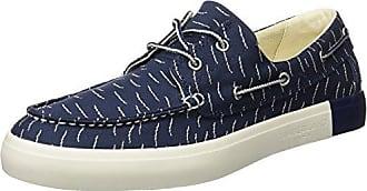 Timberland Bayham, Zapatos de Cordones Oxford para Hombre, Azul (Black Iris Canvas 019), 44.5 EU