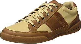 Timberland Dauset, Zapatos de Cordones Oxford para Hombre, Amarillo (Wheat Suede 231), 43.5 EU