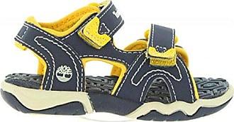 Timberland Sandalen für Junge und Mädchen 2484A Active Navy-Yellow Schuhgröße 24 inyaCa