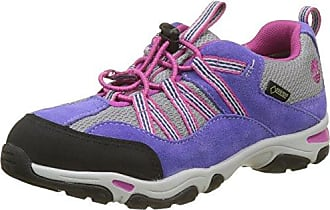 Timberland City Scamper Retro Jogger, Zapatos de Cordones Oxford Unisex Niños, Gris (Forged Iron Suede with Steeple Grey C64), 32 EU