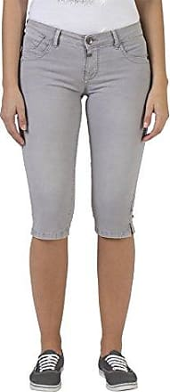 4 pantsBermuda Femme, (cloud white 1041), 34 (Taille fabricant: 27)