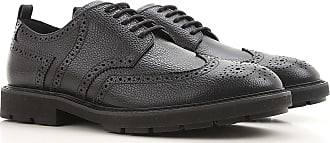 Brogue Shoes On Sale, Black, Leather, 2017, 6 7 8 Tod's