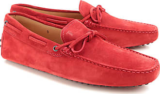 Driver Loafer Shoes for Men On Sale, Amaranth Red, suede, 2017, 10 5 6 6.5 7 7.5 8 8.5 9.5 Tod's