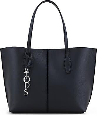 Tod's Sac Shopping Joy Anelli en Cuir de Veau Grainé Marron l4CyYQm5ot