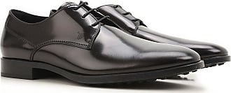 Lace Up Shoes for Men Oxfords, Derbies and Brogues On Sale, Black, Leather, 2017, 5 6 8.5 Tod's