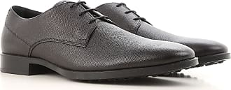 Lace Up Shoes for Men Oxfords, Derbies and Brogues On Sale, Black, Leather, 2017, 6.5 8.5 Tod's