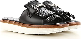 Sandals for Women On Sale, Black, Leather, 2017, 2.5 3 3.5 4 4.5 5.5 6 7.5 Tod's