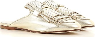Sandals for Women On Sale, Light Gold, Leather, 2017, 2.5 3 3.5 4 4.5 5.5 6 7.5 8.5 Tod's